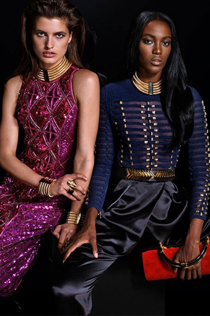Balmain H&M collaboration