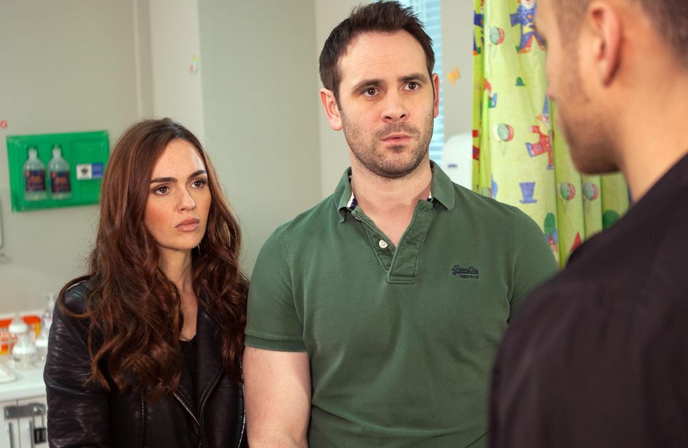 Hollyoaks 09/6 - Freddie ignores a letter from social services