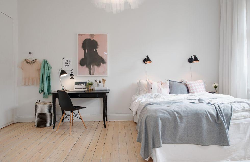 8 parejas de colores que nunca fallan en un dormitorio