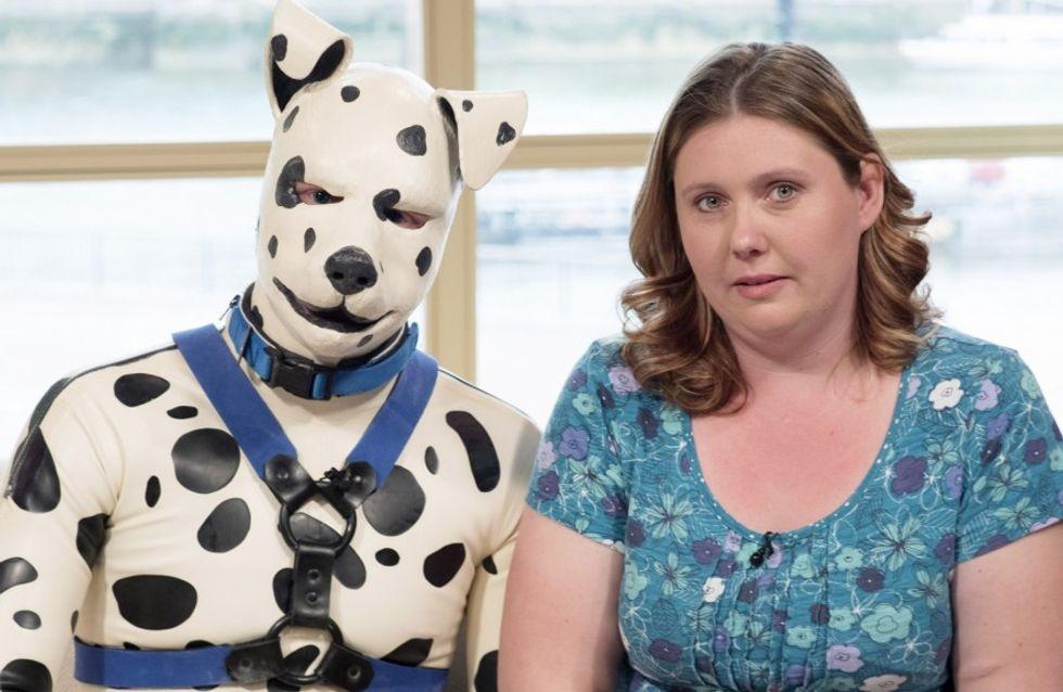 La última moda que arrasa en Reino Unido: Hombres-perros
