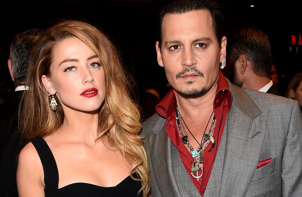 Johnny Depp et Amber Heard divorcent