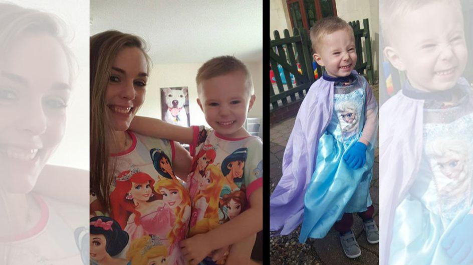 """""""Mein Sohn trägt ein Prinzessinnenkleid, na und?"""" Diese Mama reagiert genau richtig"""
