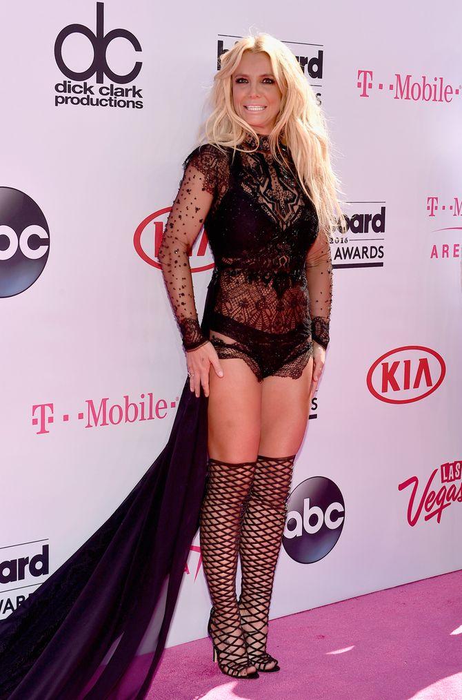 Britney Spears aux Billboard Awards le 22 mai 2016