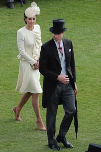 Kate Middleton à la garden party de la reine, le 24 mai 2016