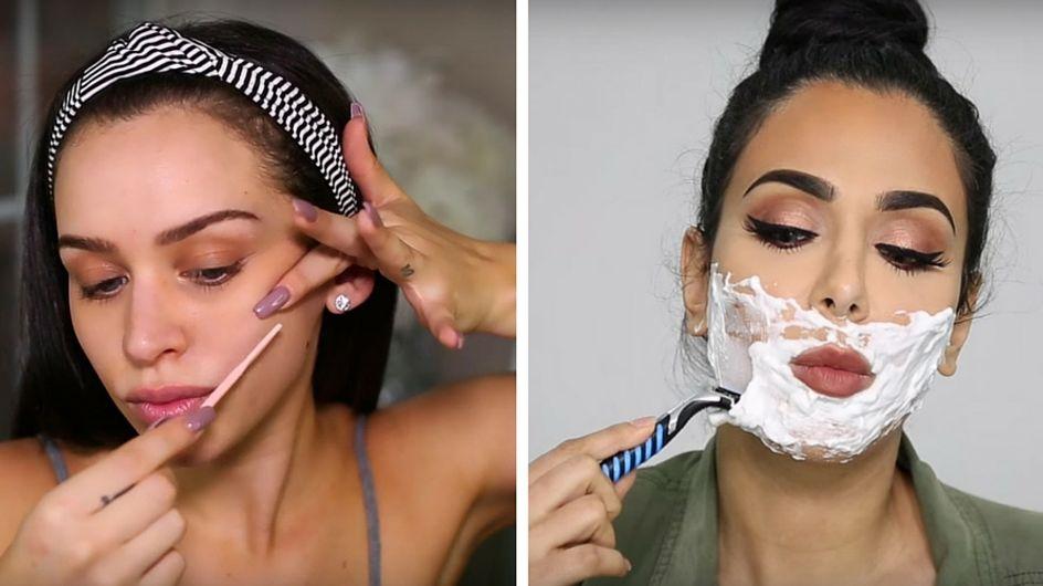 Se raser le visage : le secret beauté pour une plus jolie peau ?
