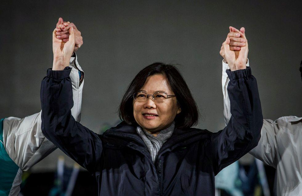 La présidente de Taïwan accusée d'être incapable de gouverner car elle est célibataire