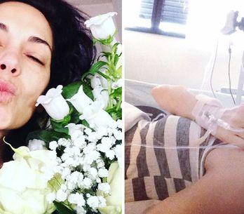 Giorgia Surina, operata di tumore, rassicura i fan. Ecco le immagini!