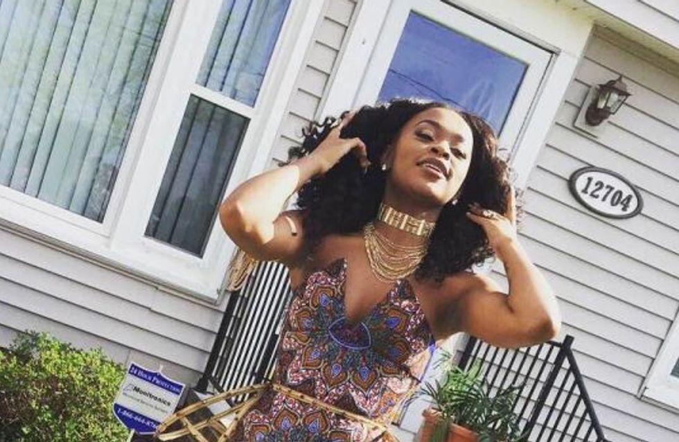 Elle remet à sa place un prof raciste avec une magnifique robe de bal à imprimés africains (Photos)