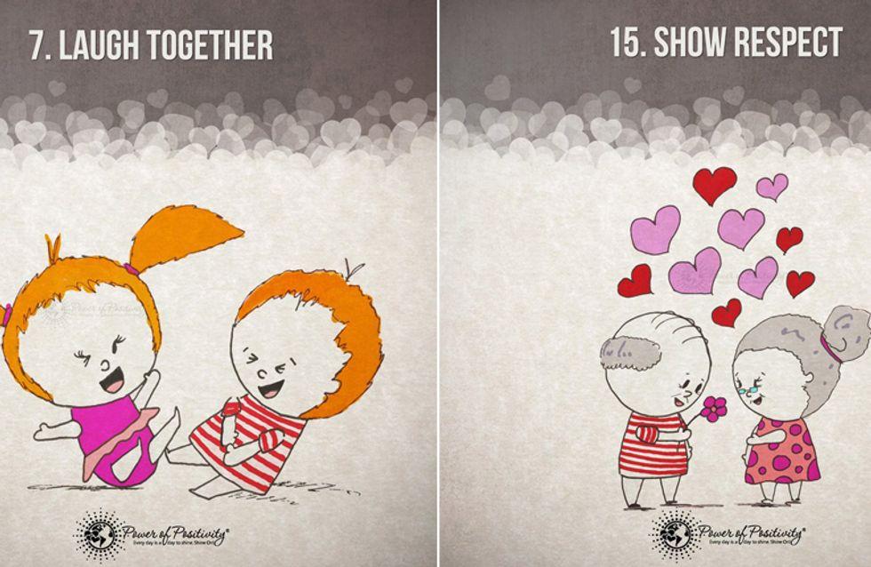 Das Geheimnis der Liebe: 15 Regeln für eine glückliche, lange Beziehung