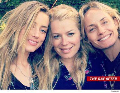 Amber Heard y sus amigas