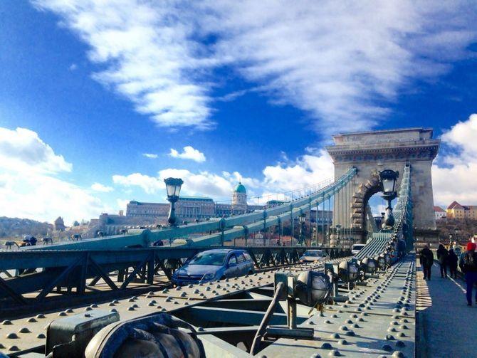 Puente de las Cadenas, Budapest Hungría