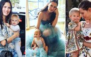 Bianca Balti con la figlia Mia, sempre più bella, e su Instagram c'è chi ancora