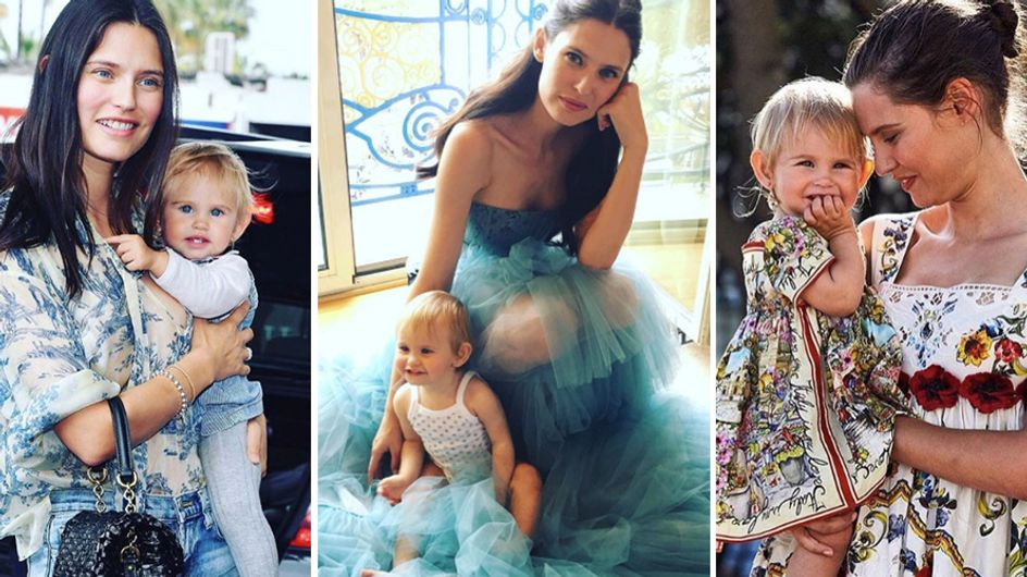 """Bianca Balti con la figlia Mia, sempre più bella, e su Instagram c'è chi ancora la definisce """"brutta""""..."""