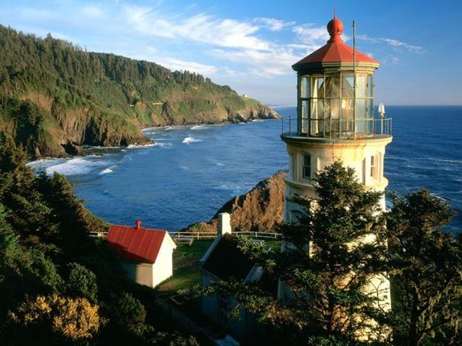 Heceta Head Light en Estados Unidos