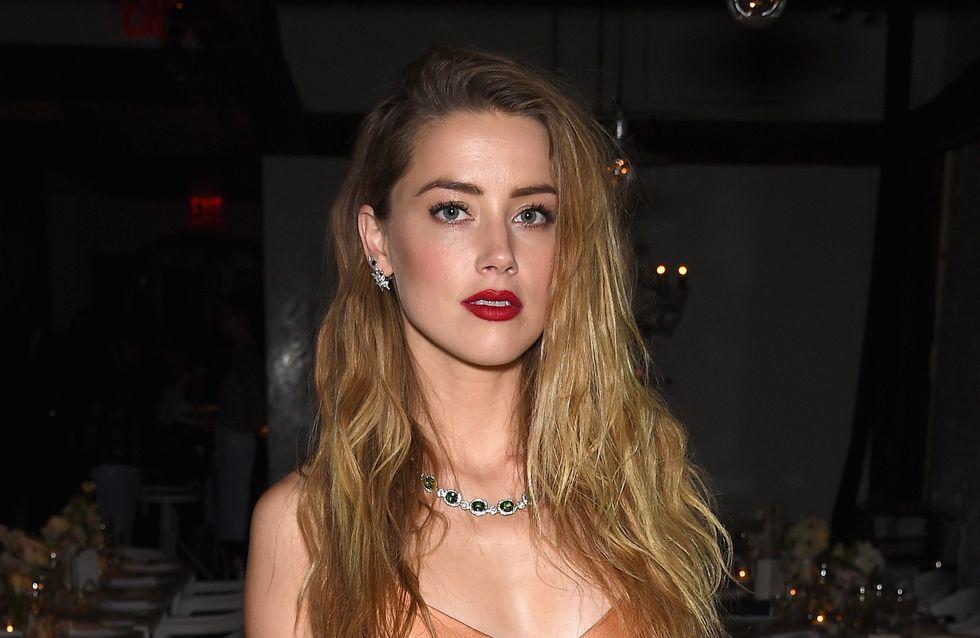 """Amber Heard dit """"stop"""" !"""