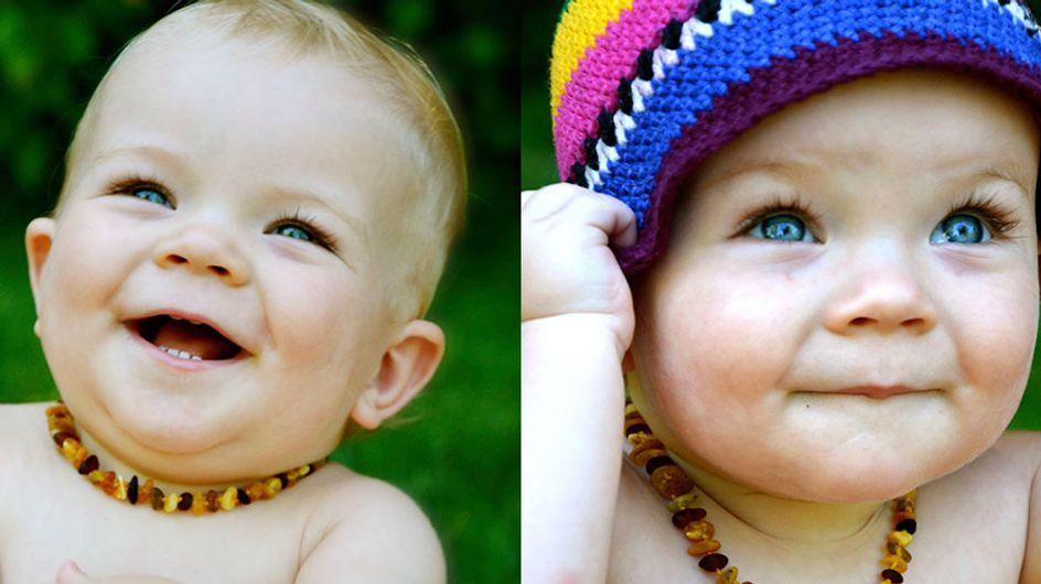 Devo usar colar de âmbar no meu bebê?