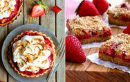 Was für ein Traumpaar! Die 3 besten Erdbeer-Rhabarber-Rezepte des Sommers