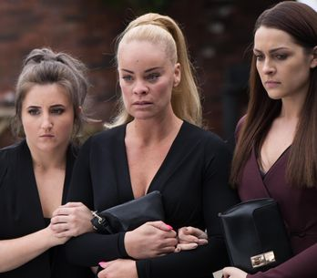 Hollyoaks 14/6 - Grace and Sienna prepare for Trevor's funeral