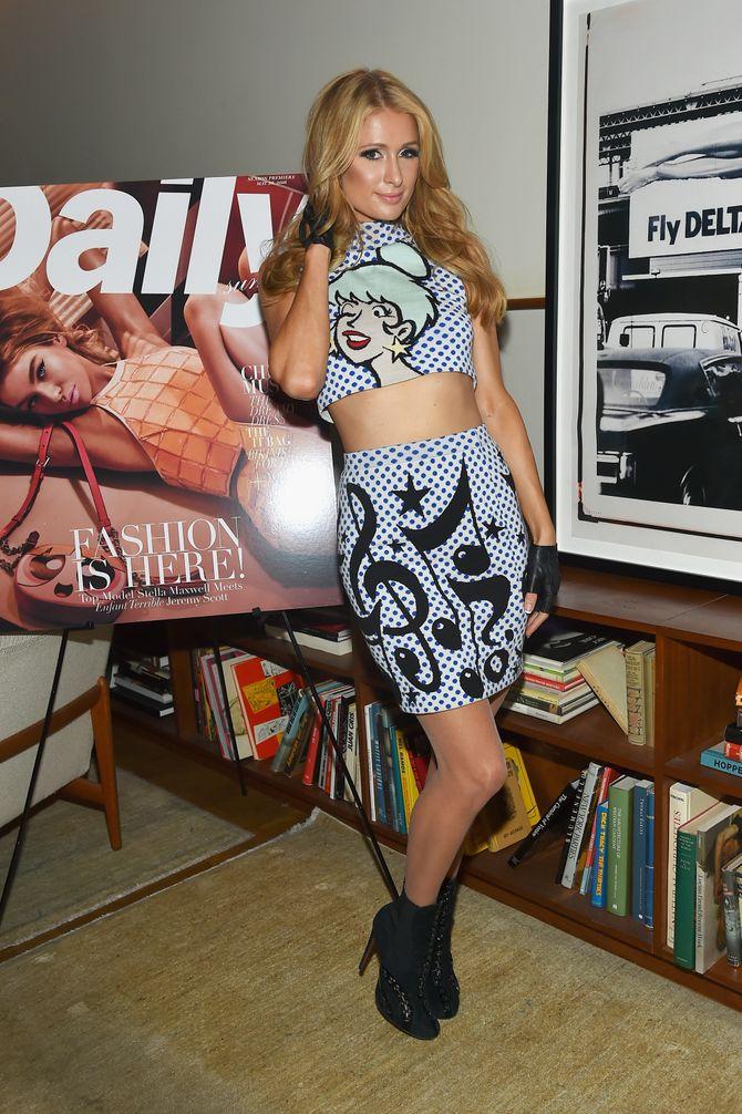 Paris Hilton le 2 juin à New York