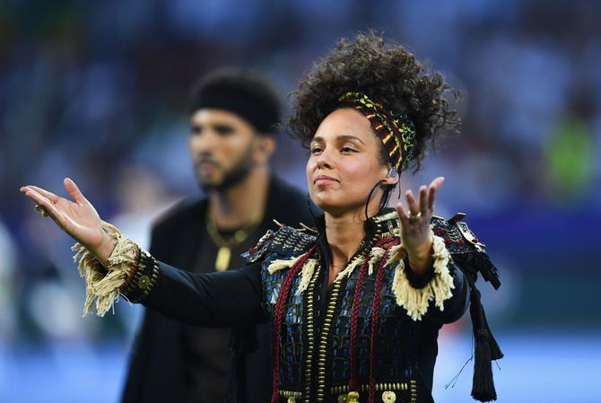 Alicia Keys décide de ne plus porter de maquillage