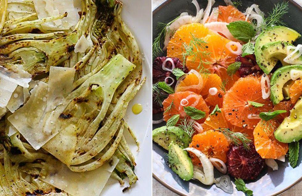 Überbacken im Ofen oder als frischer Salat: So einfach könnt ihr Fenchel zubereiten!