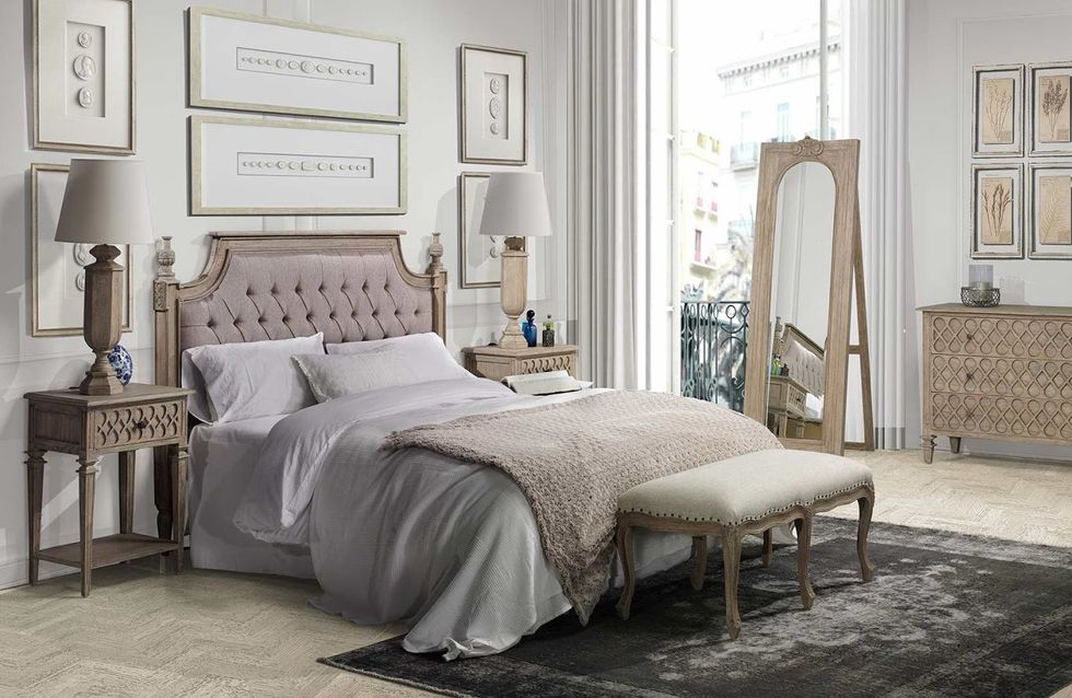 Cabeceros glam, elige la pieza clave para tener un dormitorio de lujo