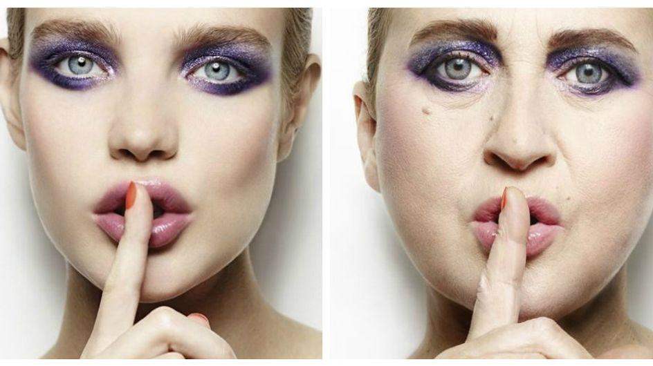 In posa come una modella: l'ironia nelle foto della stilista Nathalie Croquet