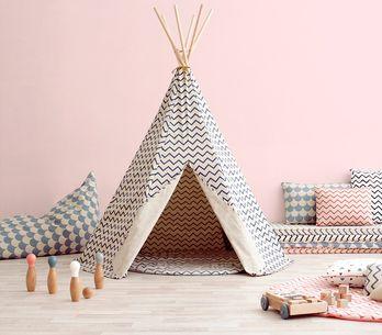 ¡Solo querrán hacer el indio! 8 tips para decorar con tipis su habitación