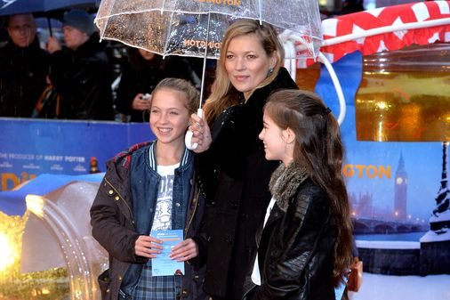 Kate Moss et sa fille Lila Grace Moss