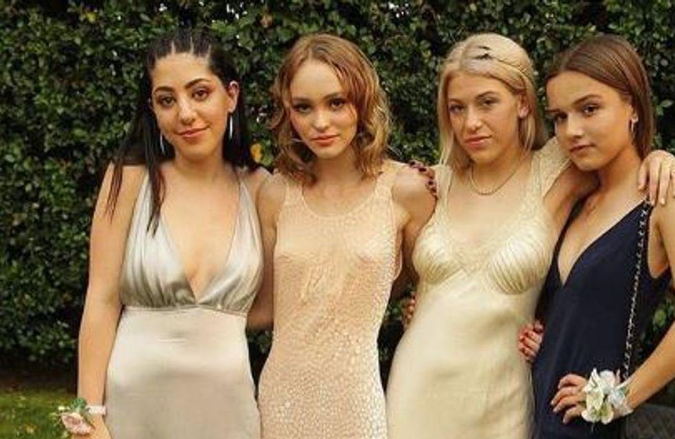 Lily-Rose Depp, une robe sexy pour son bal de promo (Photos)