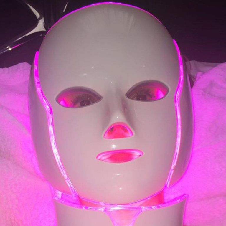 Led luz mascaras con