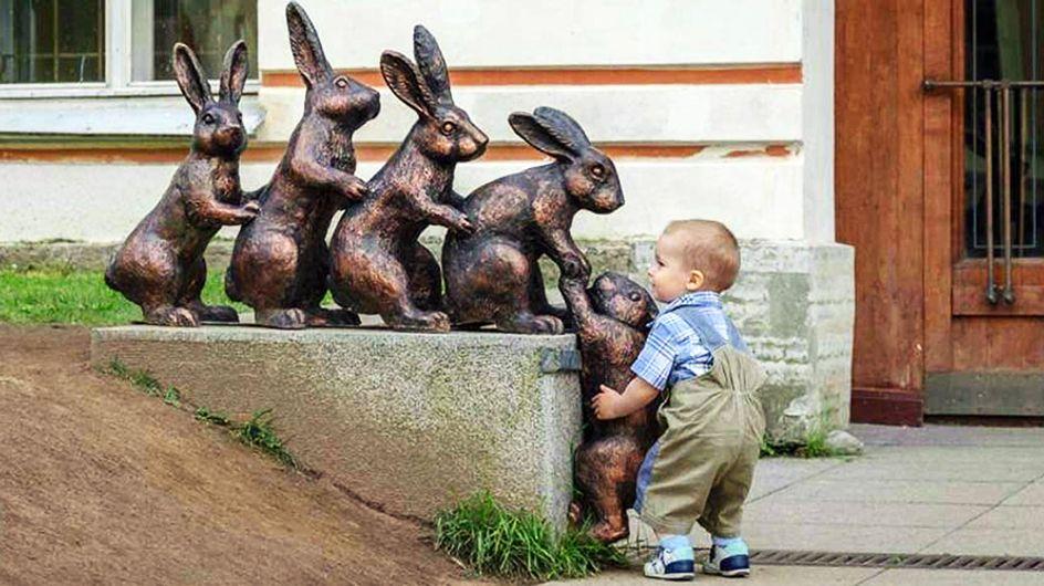 11 starke Bilder, die beweisen, dass wir viel öfter wie Kinder denken sollten