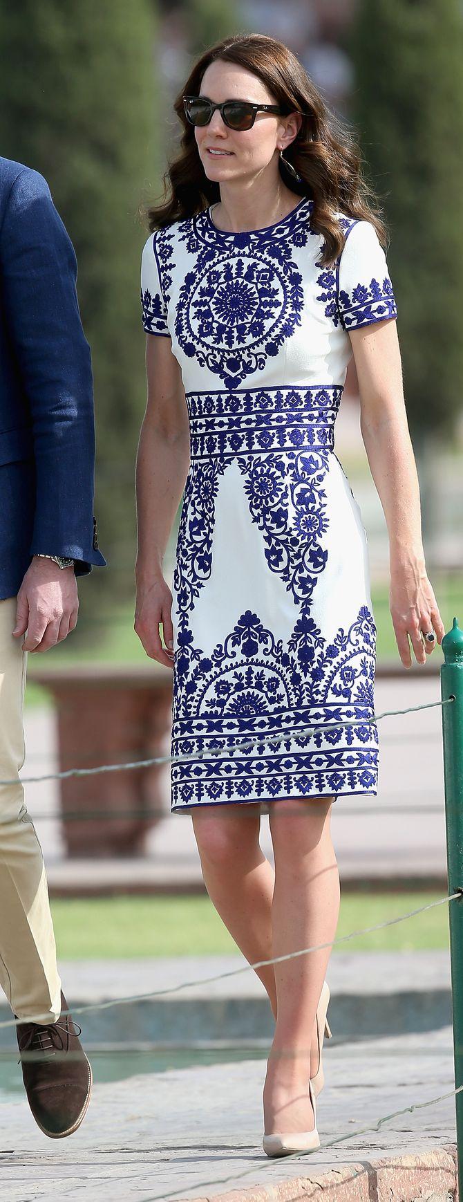 Kate Middleton au printemps 2016