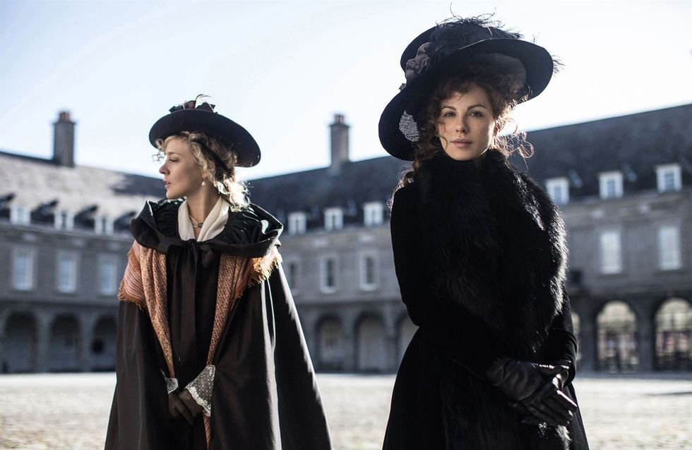 "Kate Beckinsale en Lady manipulatrice dans ""Love & Friendship"""