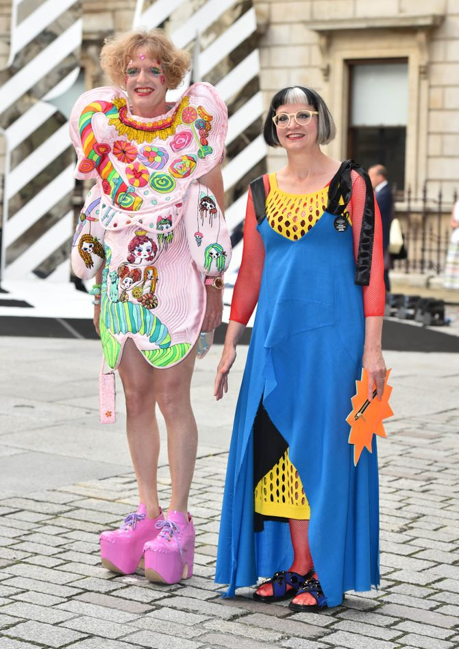 Grayson Perry y Philippa Perry