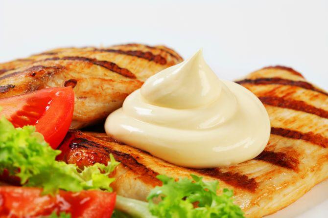 poulet mayonnaise