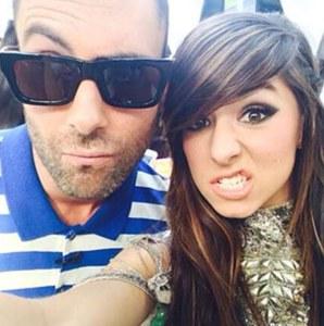 Adam Levine et Christina Grimmie