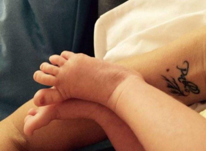 Los pies de Nicolás