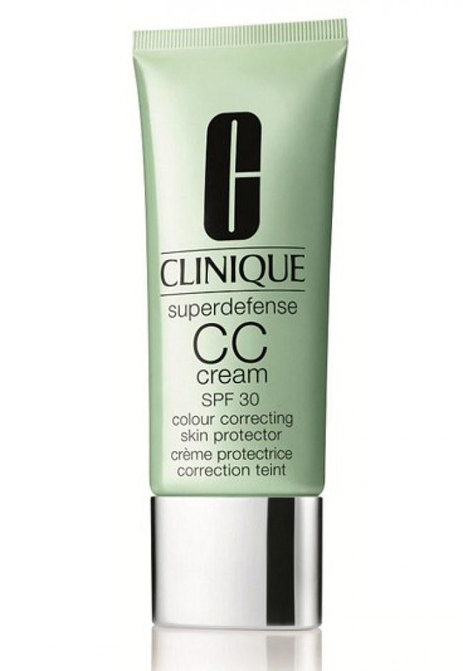CC Cream Superdefense de Clinique 32€