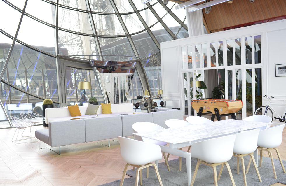 ¡Un sueño hecho realidad! Descubre palmo a palmo el apartamento efímero de la Torre Eiffel