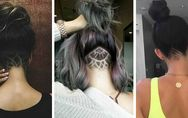 La tendance hair tattoo ferait-elle son come-back ?