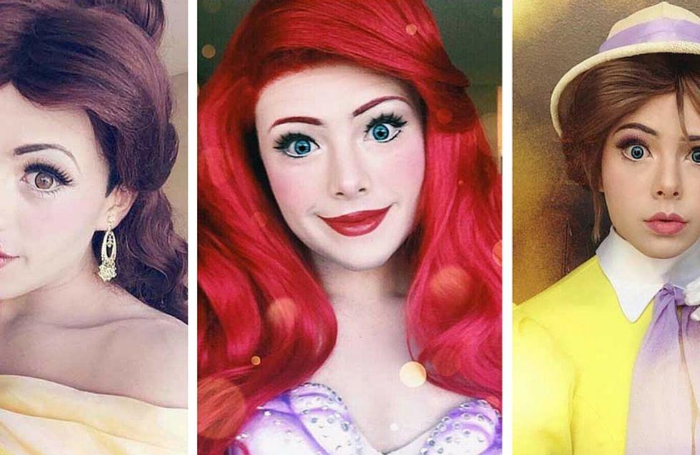 Vous ne devinerez jamais qui se cache derrière ces princesses Disney