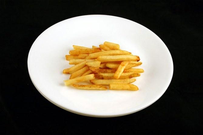 73 gramos patatas fritas