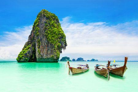 Playa de Koh Poda, en Tailandia