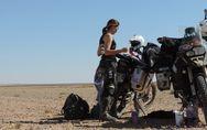 Mujer, madre y motera: la primera española en atravesar el Sáhara en moto y en t