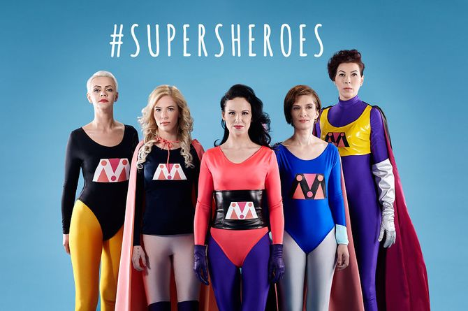 Nos 5 SuperSheroes