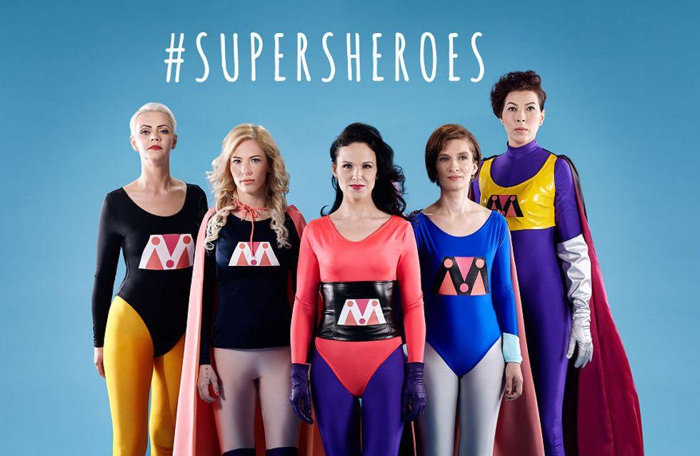 Ces anciennes victimes de violences conjugales se transforment en super-héroïnes (Photos)