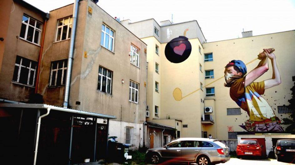 30 enormes murales que llevan el arte urbano a otro nivel