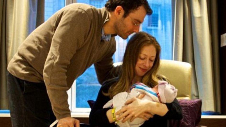 Chelsea Clinton, maman d'un garçon prénommé Aidan