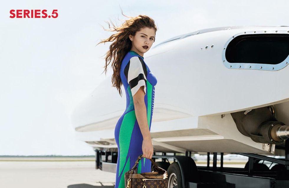 Selena Gomez devient la nouvelle égérie de la maison Louis Vuitton